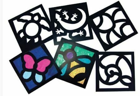 Junior Stained Glass Frames
