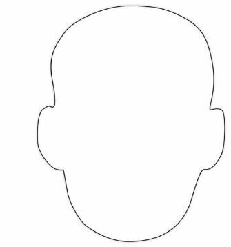 Head Shape Cut Outs