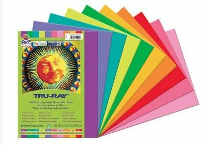 Tru-Ray Construction Paper - Bright Assortment