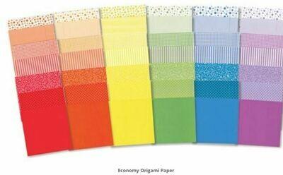 Economy Origami Paper