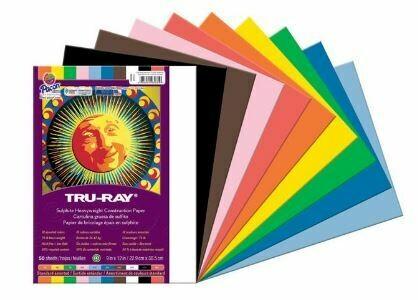 Tru-Ray Construction Paper - Standard Assortment