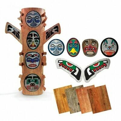 Peel & Stick Totem Poles