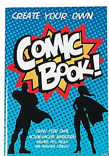 Create Your Own Comic Book 52 Pg Activity Pad