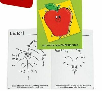 Alphabet Dot-to-Dot Activity Book