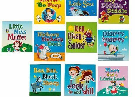 Nursery Rhyme Readers - 10 Books