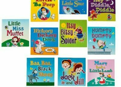 Nursery Rhyme Readers - 10 Books