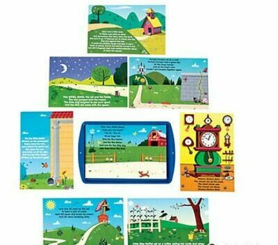 Retelling Nursery Rhymes Magnetic Activity Set