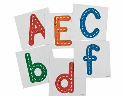 Giant Dry Erase Traceable Letters - 26pcs
