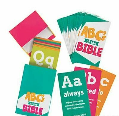 ABCs of the Bible Cards