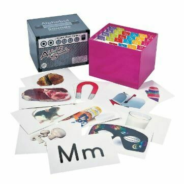 Alphabet Sounds Pocket Chart Cards Set