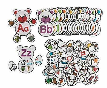Build a Character Alphabet Match Game