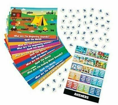 Letter Sounds Magnetic Activity Set - 67pcs
