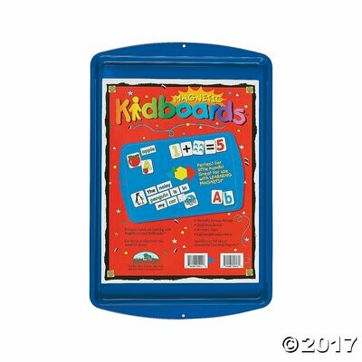 Learning Magnets Magnetic Blue Kidboard