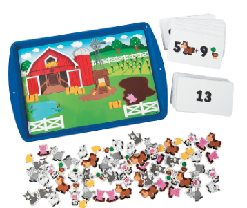 Learning Addition Magnetic Activity Set