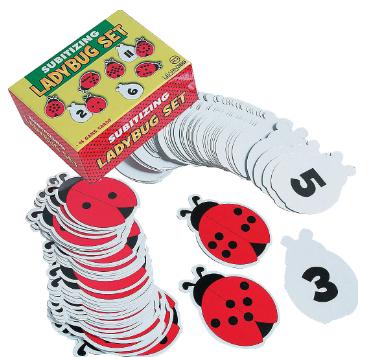 Subitizing Ladybug Learning Set