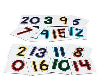 Sensory Numbers - 21pcs