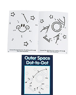 Numbers Dot-to-Dot Activity Book