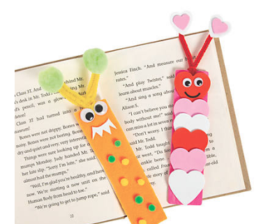 DIY Unfinished Wood Bookmarks - 24Pk