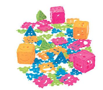 Happy Face Connecting Puzzle Pieces-1000Pk