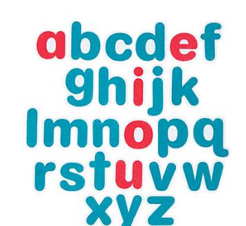 Felt Alphabet Set - 26 Pieces