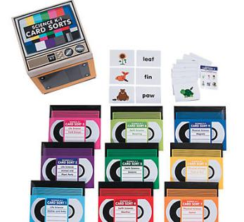 Science Card Sorts Set K-1