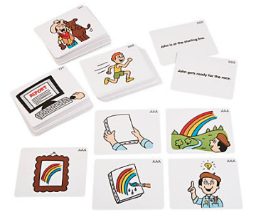 Sequencing Paper Story Cards