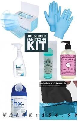 Office Sanitizing Kit (7 ITEMS)