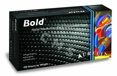 Bold® Nitrile Powder-Free Examination Black Gloves