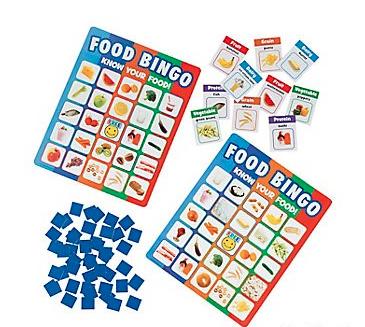 Food Recognition Bingo - 86pcs
