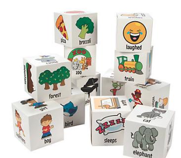Jumbo Roll-a-Story Cubes - 12Pk