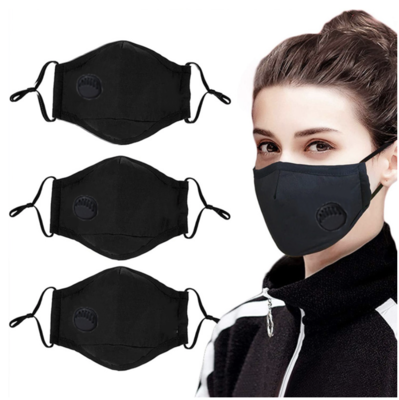 Reusable Safety Mask (3) + Filters (6)