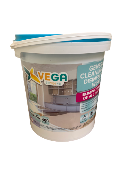 VEGA ALL PURPOSE CLEANING AND DISINFECTING WIPES - 400 Wipes