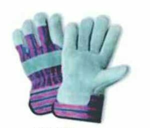 Leather Gloves - Grey, Extra Heavy - 12 Pairs