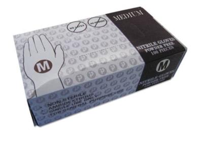 Inteplast Nitrile Medical Exam Gloves 100/Box