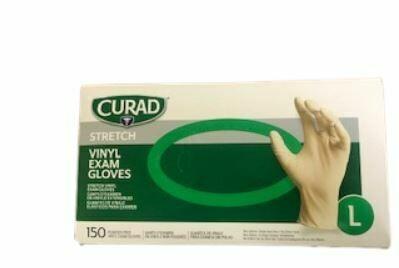 Curad Medical Gloves, 150/bx