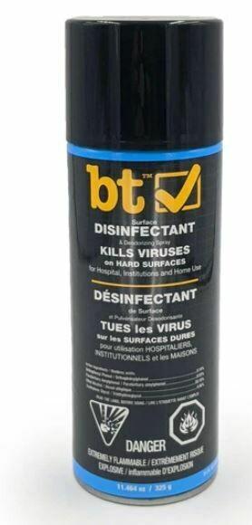 BT Surface Disinfectant & Deodorizing Spray, 325g