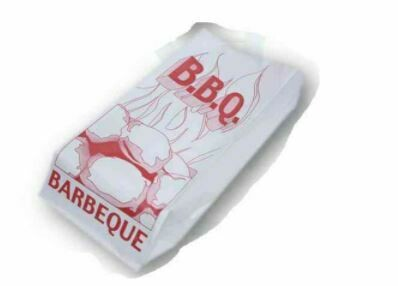 "BBQ Chicken Bag, 5.5"" x 3.5"" x 12"", Paper, Small, 500 pcs"