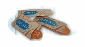 """Fresh Bread Bags, 9"""" x 6"""" x 16"""", Kraft, 1000 pcs"""