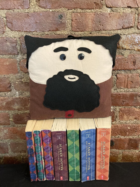 Hagrid Character Pillow