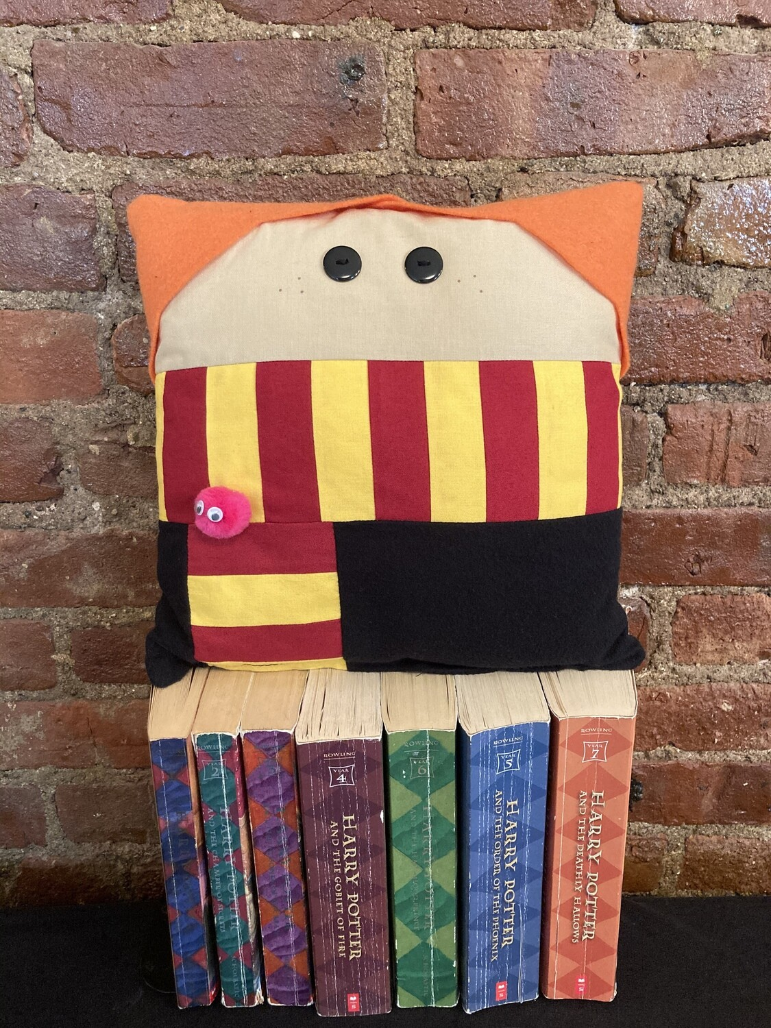 Ginny Weasley Character Pillow