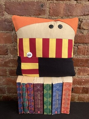 Ron Weasley Character Pillow