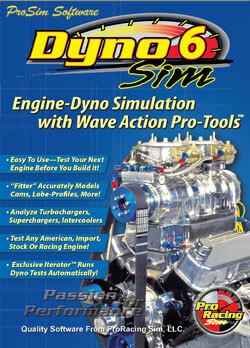New! DynoSim6 Engine Simulation (Ship)