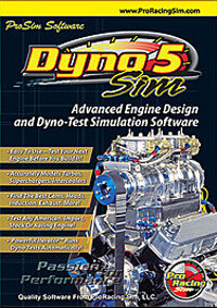 DynoSim5 Engine Simulation W/CamDisk8 (Ship)