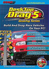 DeskTop Drag5, Drag-Race Simulation DOWNLOAD