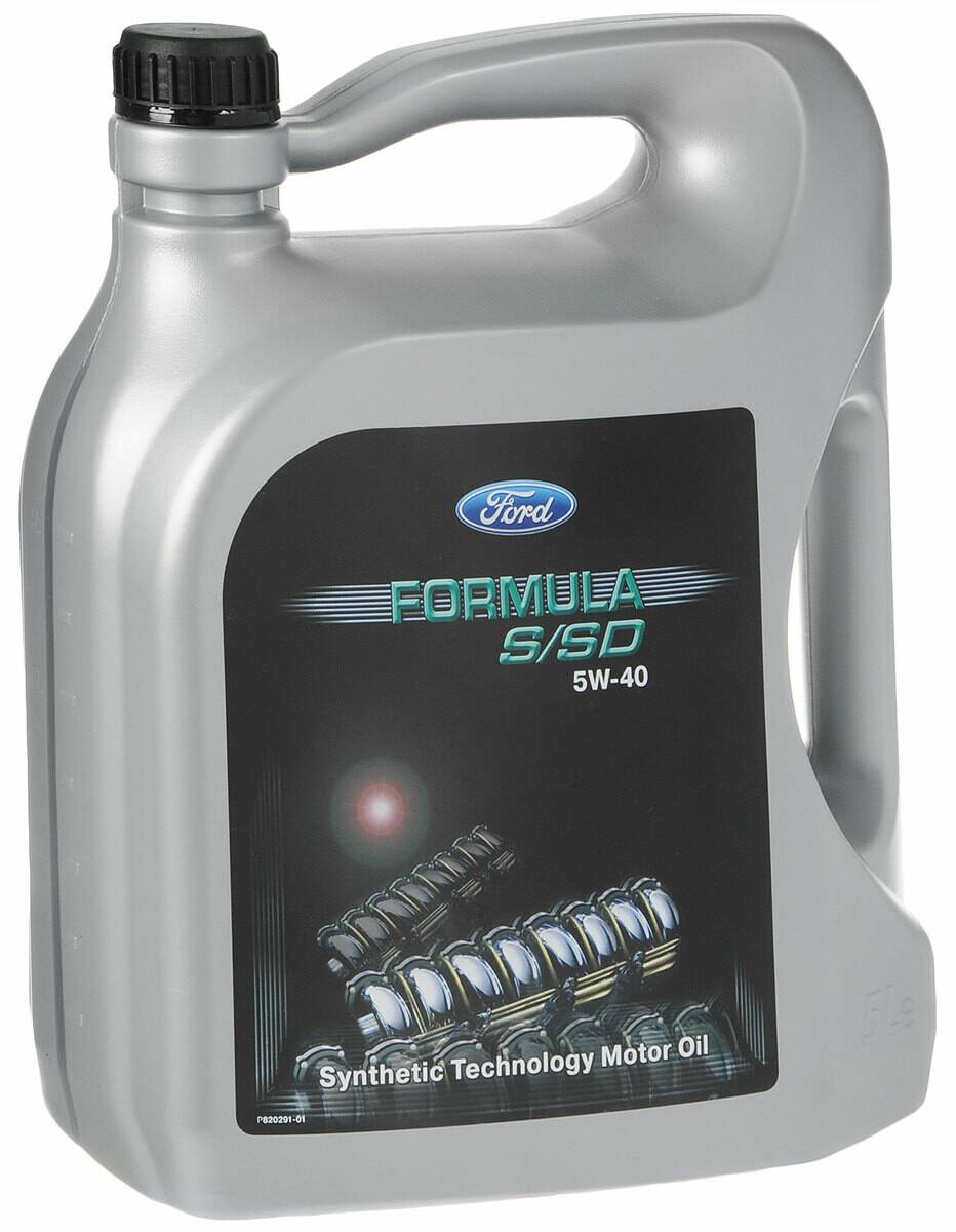 "Масло моторное синтетическое ""Formula S/SD 5W-40"", 5л"