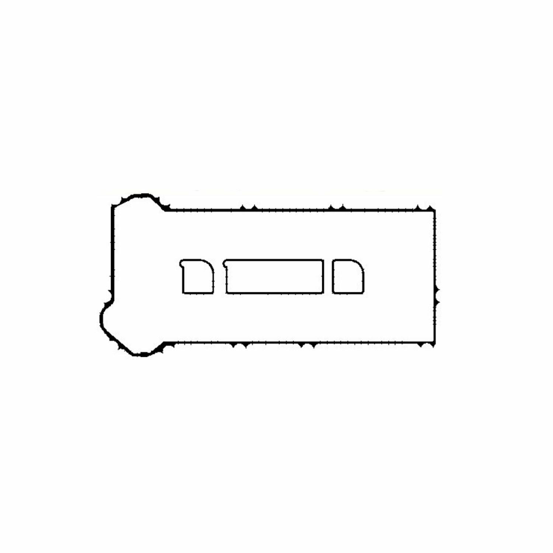 Прокладка клапанной крышки 1.8-2.0