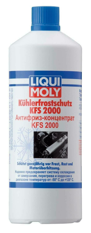 """Жидкость охлаждающая 1л. """"Kuhlerfrostschutz KFS 2000 G11"""", синяя"""