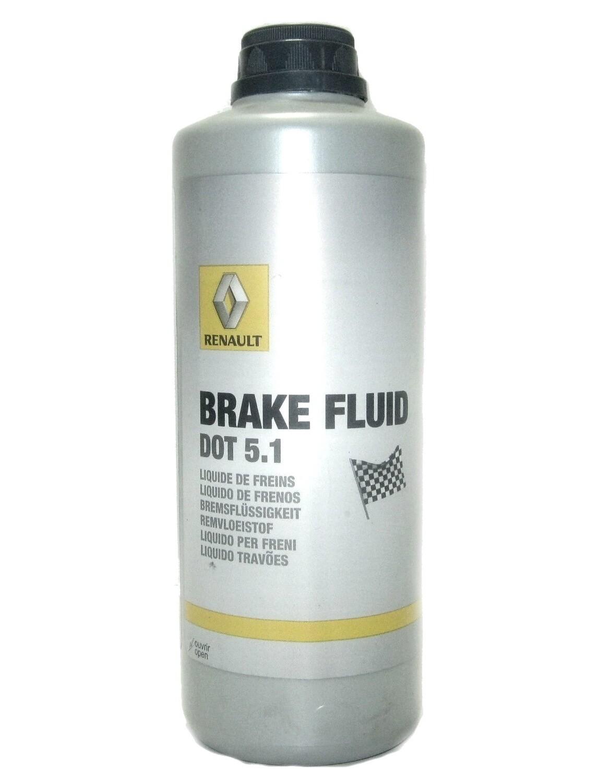 """Жидкость тормозная dot 5.1, """"BRAKE FLUID"""", 0.5л"""