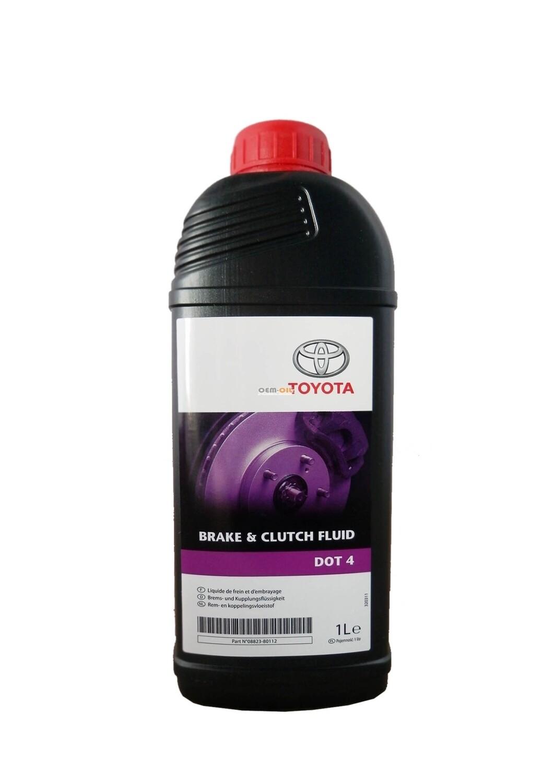 """Жидкость тормозная DOT 4, """"Brake & Clutch Fluid"""", 1л"""