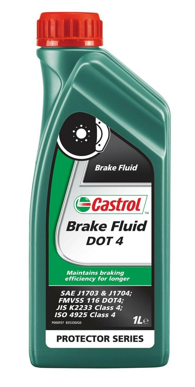 """Жидкость тормозная dot 4, """"BRAKE FLUID"""", 1л"""